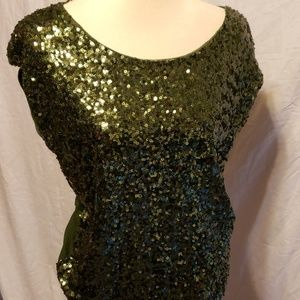 Lot of 3 INC Size Small Sequin Holiday  Tops